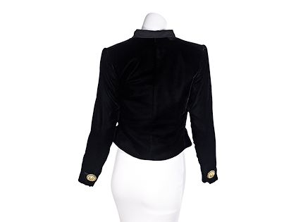 black-vintage-yves-saint-laurent-1990s-velvet-cropped-jacket