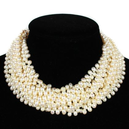 tiffany-co-multistrand-pearl-choker-paloma-picasso-vintage-pre-owned-used