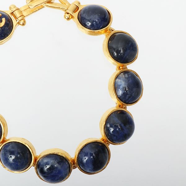 chanel-round-marble-stone-cc-mark-bracelet-royal-blue