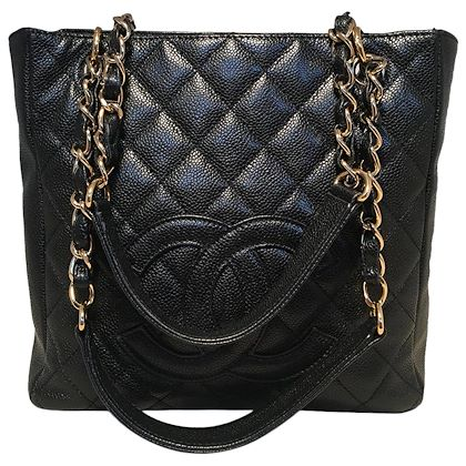 0df4afd0d ... chanel-black-quilted-caviar-leather-petite-shopping-tote-