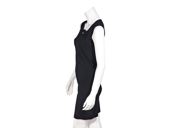 black-givenchy-stretch-knit-mini-dress
