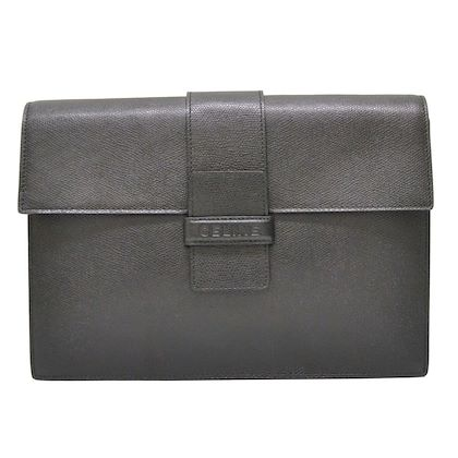 céline-leather-clutch-bag