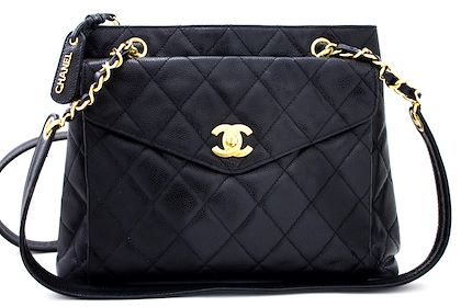 chanel-caviar-quilted-chain-shoulder-bag-leather-black-gold-hw