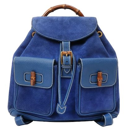 gucci-suede-bamboo-backpack-blue