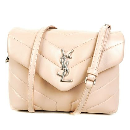 ysl-loulou-mini-crossbody-shoulder-bag-pink-leather-chevron-lou-lou-pre-owned-used