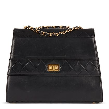 black-quilted-lambskin-vintage-trapeze-classic-single-flap-bag-2