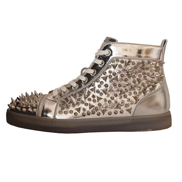 hot sales afff5 c5328 Christian Louboutin Studded sneakers