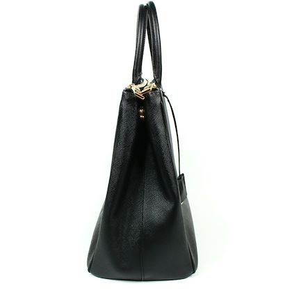 prada-large-black-saffiano-lux-tote-bag-double-zip-galleria-satchel-bag-pre-owned-used