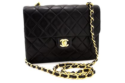 chanel-mini-square-small-chain-shoulder-crossbody-bag-black-quilt-leather