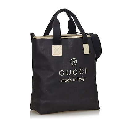 black-gucci-logo-coated-canvas-tote-bag