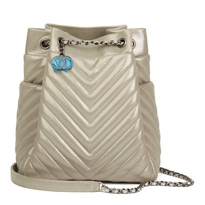 silver-metallic-chevron-quilted-calfskin-leather-small-urban-spirit-bucket-bag