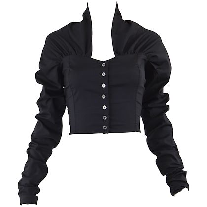 Dolce & Gabbana 1990s Ultra Long Sleeves Bodice Top
