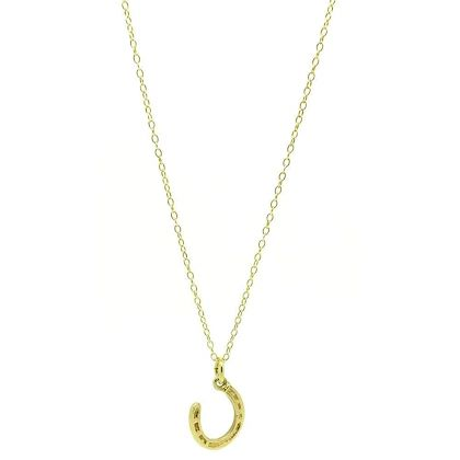 vintage-1960s-9ct-yellow-gold-horseshoe-charm-necklace