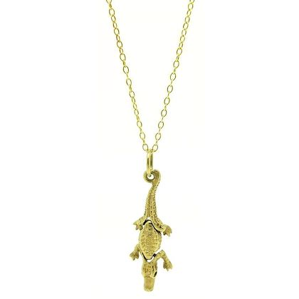 vintage-1960s-crocodile-9ct-gold-charm-necklace