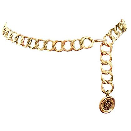 mint-vintage-chanel-golden-thick-chain-belt-with-round-cc-and-mademoiselle-charm-nice-and-heavy-single-layer-belt-back-in-old-era