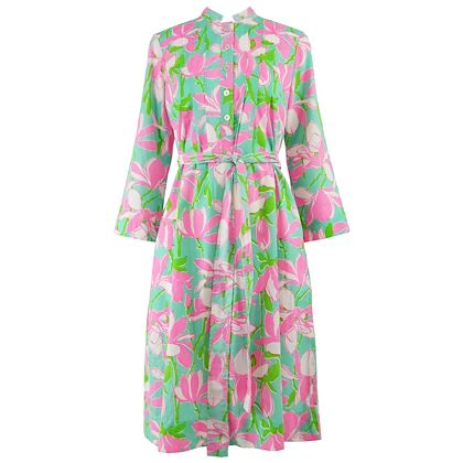 Lilly Pulitzer 1970s The 'Lily' Belted Shift Dress