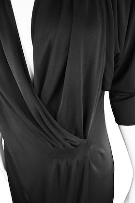 Gianni Versace Couture Spring 2001 Batwing Dress