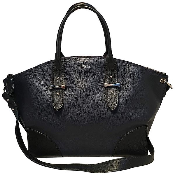 alexander-mcqueen-navy-and-black-leather-legend-satchel-tote-handbag