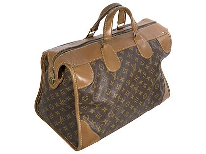 brown-louis-vuitton-french-company-monogram-keepall-bag