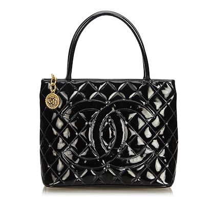 chanel-patent-leather-medallion-tote-tote-bag
