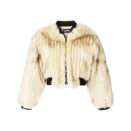 Jean Paul Gaultier Fox fur jacket