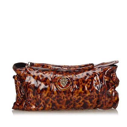 black-and-brown-gucci-hysteria-patent-leather-clutch