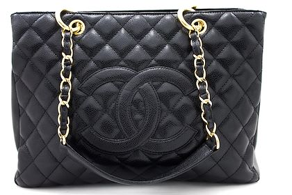chanel-caviar-gst-13-grand-shopping-tote-chain-shoulder-bag-black-leather