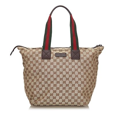 brown-and-beige-gucci-canvas-web-gg-tote-bag