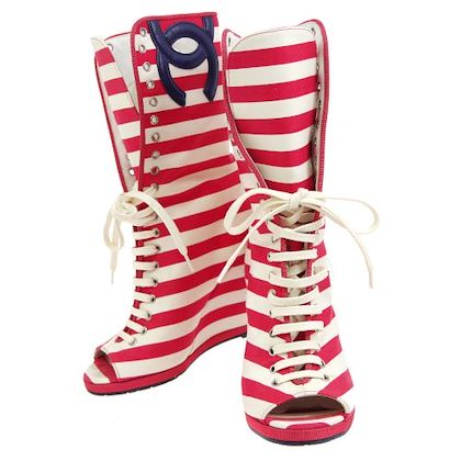 chanel-border-cc-open-toe-boots-shoes-white-red