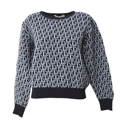 christian-dior-trotter-long-sleeve-tops-sweater-black-l