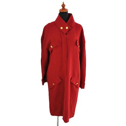 chanel-cc-logos-long-winter-coat-red-100-wool-38