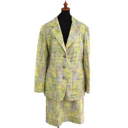 chanel-cc-logos-setup-suit-jacket-skirt-yellow-cotton-40