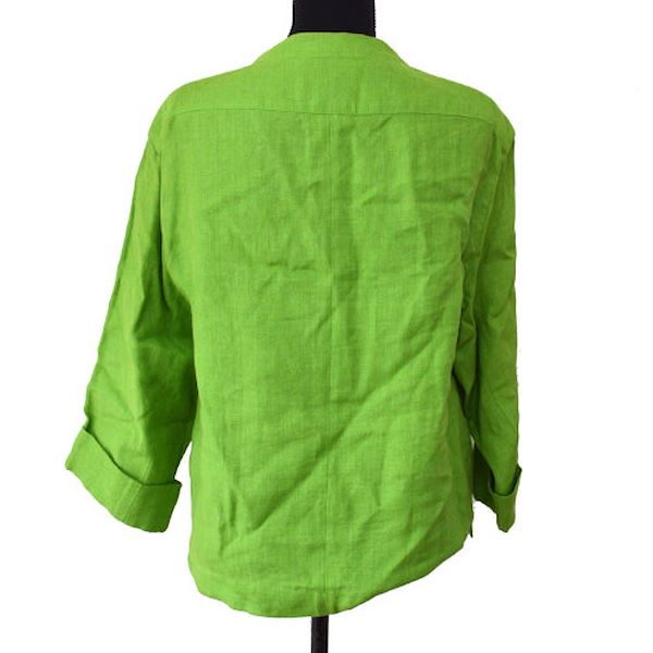 chanel-long-sleeve-jacket-green-40