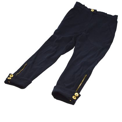 chanel-button-long-pants-navy-gold