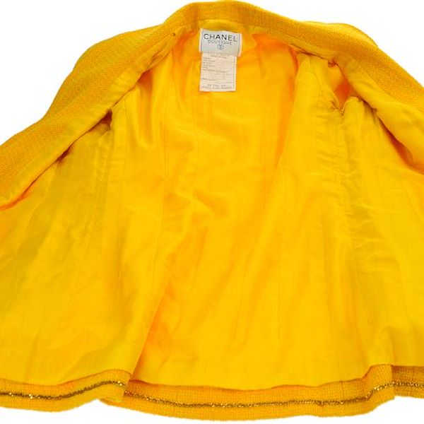 chanel-cc-long-sleeve-jacket-coat-yellow
