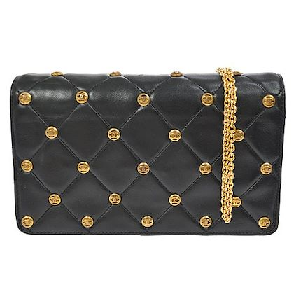 chanel-quilted-cc-studs-chain-shoulder-bag-black-leather