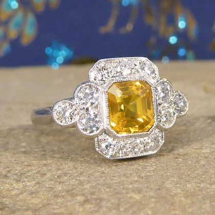 contemporary-150-carat-yellow-sapphire-and-diamond-cluster-ring-in-platinum