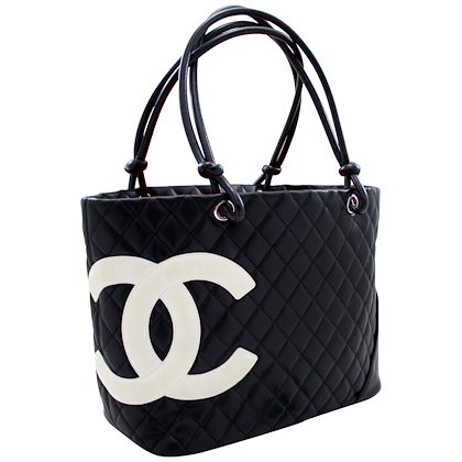 chanel-cambon-tote-large-shoulder-bag-black-white-quilted-calfskin-leather-2