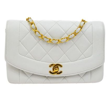 chanel-diana-quilted-single-chain-shoulder-bag-white