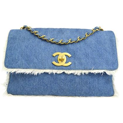 chanel-jumbo-quilted-single-chain-shoulder-bag-blue-denim