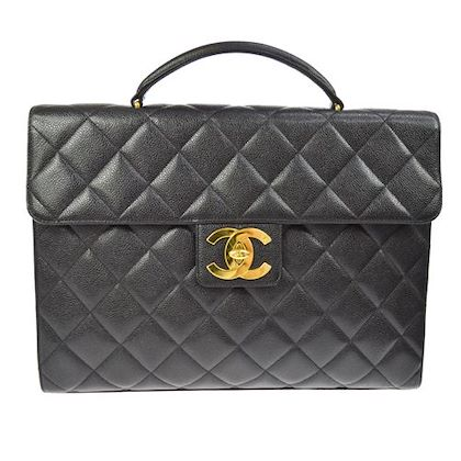 chanel-quilted-cc-briefcase-hand-bag-caviar-leather-black