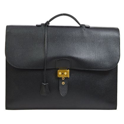 hermes-sac-a-depeches-41-briefcase-hand-bag-black-ardennes