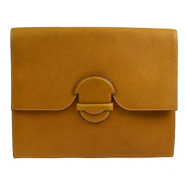 hermes-1982s-vintage-briefcase-brown-traurillon-clemence