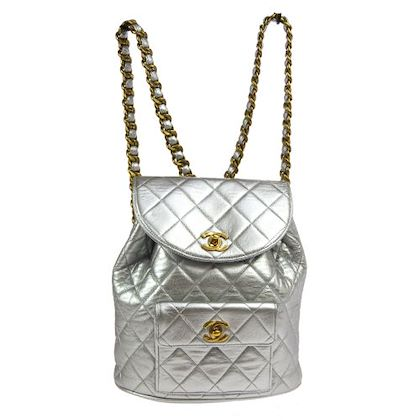 chanel-quilted-cc-logos-chain-backpack-bag-silver