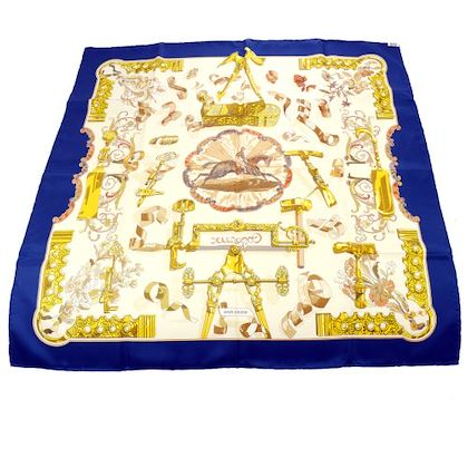 hermes-carre-90-copeaux-caty-latham-scarf-navy