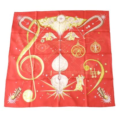 hermes-q-uintessence-scarf-red