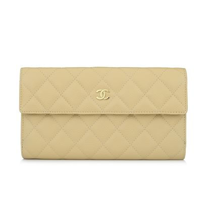 chanel-classic-flap-wallet-beige-caviar-gold-hardware-2012