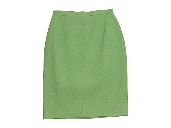 lime-green-vintage-thierry-mugler-cotton-pique-skirt-suit-set