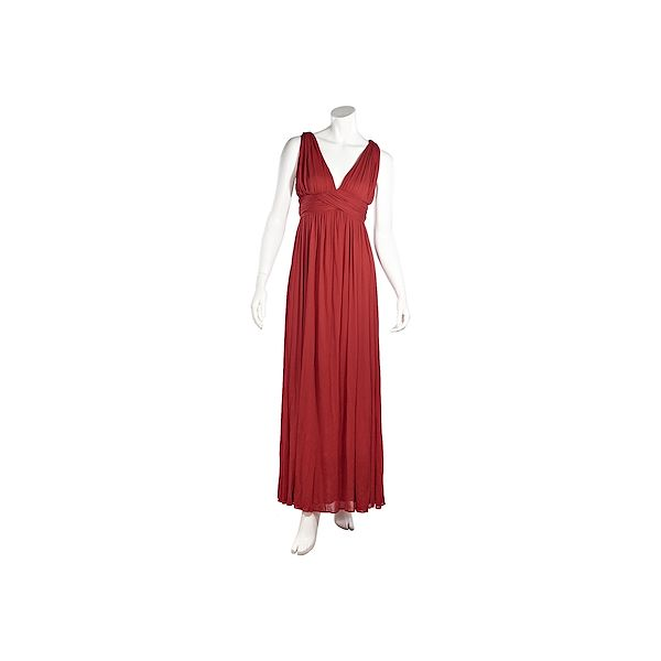 red-alexander-mcqueen-pleated-maxi-dress