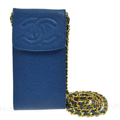 chanel-cc-chain-shoulder-bag-pouch-blue-caviar-skin